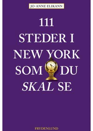 111 steder i New York som du skal se (Bog)