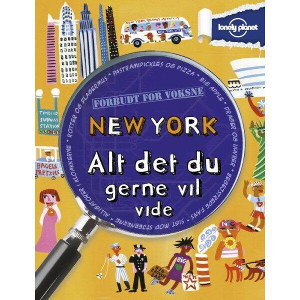 New York - Alt det du gerne vil vide (Bog)