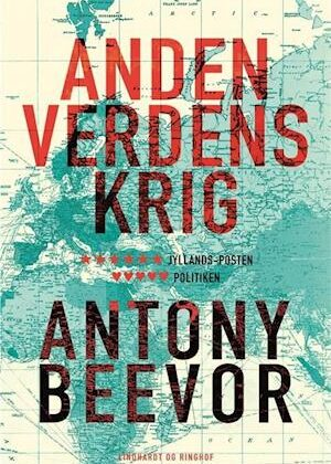 Anden verdenskrig-Antony Beevor-Bog