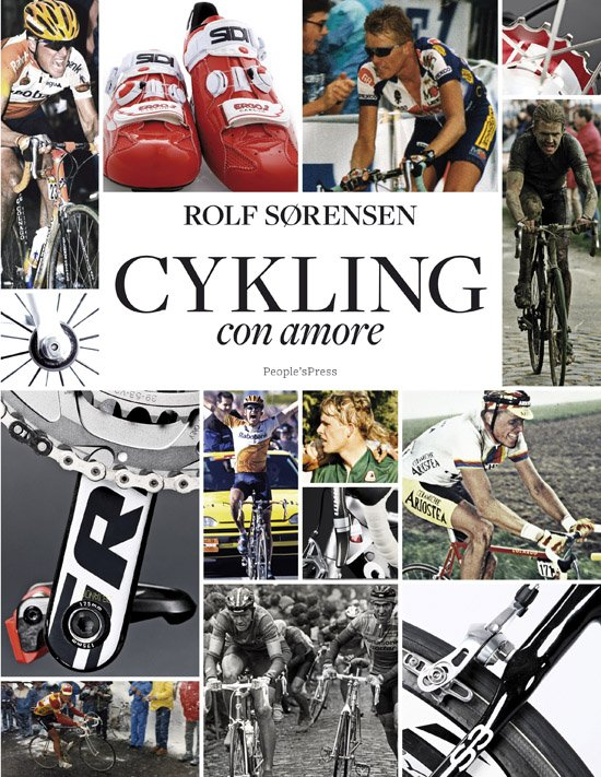 Cykling - Con Amore - Rolf Sørensen - Bog