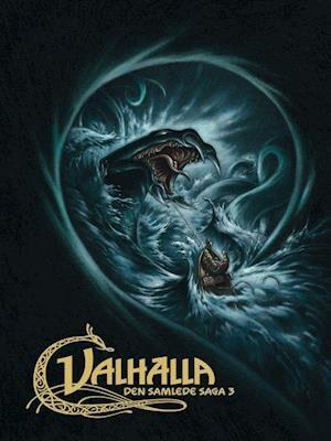 Valhalla- Den store udfordring - Frejas smykke - Ormen i dybet-Henning Kure-Bog