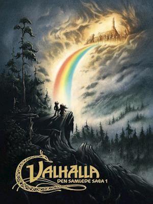 Valhalla- Odins væddemål - Thors Brudefærd - Ulven er løs-Peter Madsen-Bog